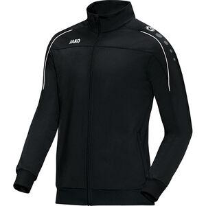 Classico Polyester Trainingsjacke Herren, schwarz / weiß, zoom bei OUTFITTER Online