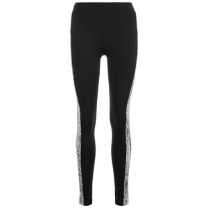 Side Striped Pattern Leggings Damen, schwarz / grau, zoom bei OUTFITTER Online