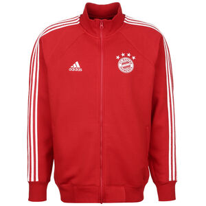 FC Bayern München Icons Trainingsjacke Herren, rot / weiß, zoom bei OUTFITTER Online