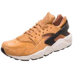 Air Huarache Run Premium Sneaker Herren, hellbraun / schwarz, zoom bei OUTFITTER Online