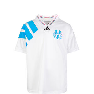 Olympique Marseille 93 Retro Trikot Kinder, Weiß, zoom bei OUTFITTER Online