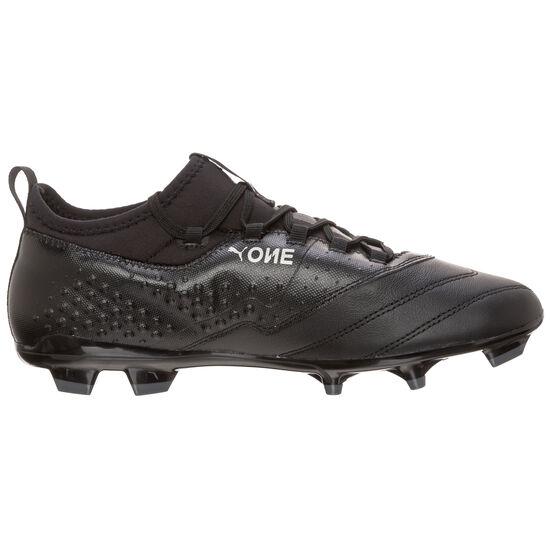 ONE 3 Leather FG Fußballschuh Herren, Schwarz, zoom bei OUTFITTER Online
