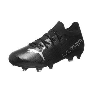 ULTRA 2.3 FG/AG Fußballschuh Kinder, schwarz / silber, zoom bei OUTFITTER Online