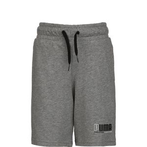 Alpha Jersey Shorts Kinder, grau / schwarz, zoom bei OUTFITTER Online