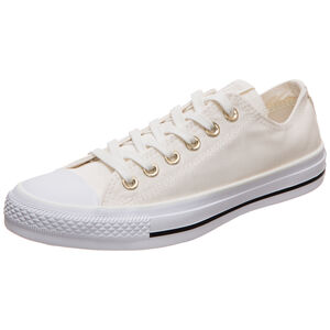 Chuck Taylor All Star OX Sneaker Damen, beige / weiß, zoom bei OUTFITTER Online