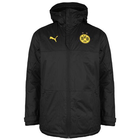 Borussia Dortmund Training Winterjacke Herren, schwarz / gelb, zoom bei OUTFITTER Online