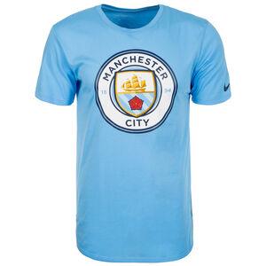 Manchester City Evergreen Crest T-Shirt Herren, Blau, zoom bei OUTFITTER Online