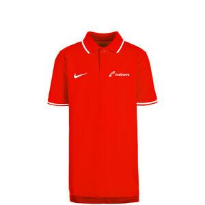 Mainova Club19 TM Poloshirt Kinder, rot / weiß, zoom bei OUTFITTER Online
