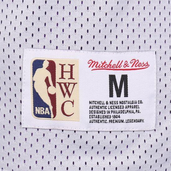 NBA Reversible Mesh Tank Basketballtrikot Herren, weiß / rot, zoom bei OUTFITTER Online