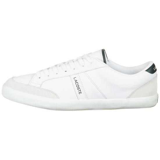 Coupole 0120 Sneaker Herren, weiß / dunkelgrün, zoom bei OUTFITTER Online