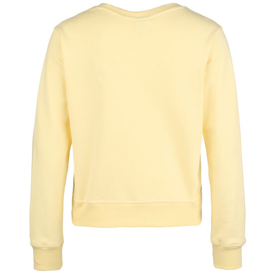 Essentials Crew Sweatshirt Damen, dunkelgelb / gelb, zoom bei OUTFITTER Online