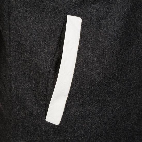 Oldschool College Jacke Herren, dunkelgrau / weiß, zoom bei OUTFITTER Online