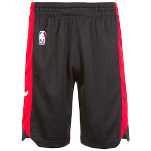 Chicago Bulls NBA Basketballshort Herren, schwarz / rot, zoom bei OUTFITTER Online