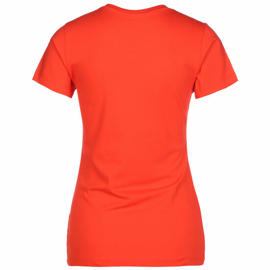 Essentials Stacked Logo T-Shirt Damen, rot, zoom bei OUTFITTER Online