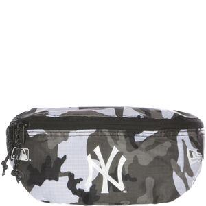 MLB New York Yankees Mini Gürteltasche, grau / weiß, zoom bei OUTFITTER Online