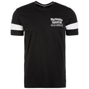 Juventus Turin Street Graphic T-Shirt Herren, schwarz / weiß, zoom bei OUTFITTER Online