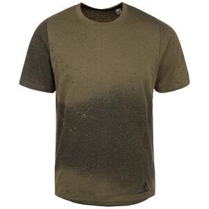 Freelift Sport Spray Grapfic Trainingsshirt Herren, oliv, zoom bei OUTFITTER Online