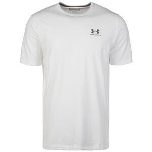 HeatGear CC Lest Chest Lockup Trainingsshirt Herren, Weiß, zoom bei OUTFITTER Online