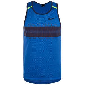Wild Run Lauftank Herren, blau, zoom bei OUTFITTER Online