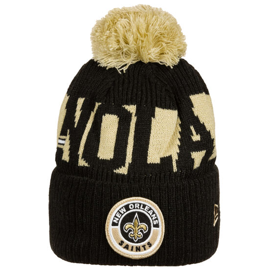 NFL New Orleans Saints Cold Weather Sport Knit Mütze, , zoom bei OUTFITTER Online