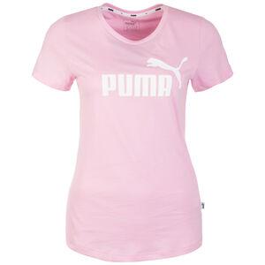Essentials Logo Trainingsshirt Damen, rosa / weiß, zoom bei OUTFITTER Online