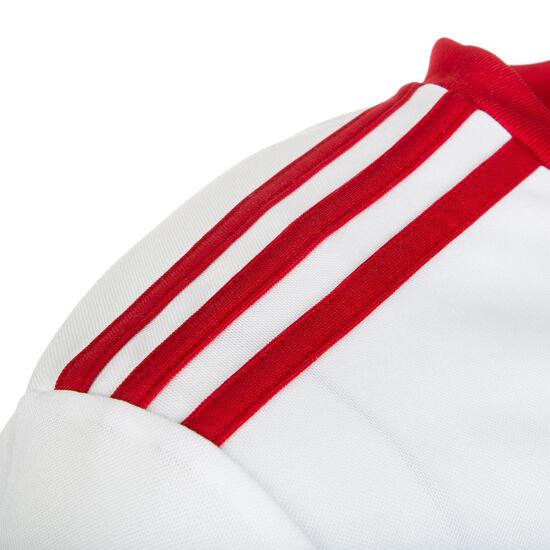 Squadra 17 Fußballtrikot Kinder, weiß / rot, zoom bei OUTFITTER Online