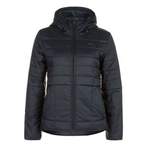 Insulated Hooded Jacke Damen, schwarz, zoom bei OUTFITTER Online