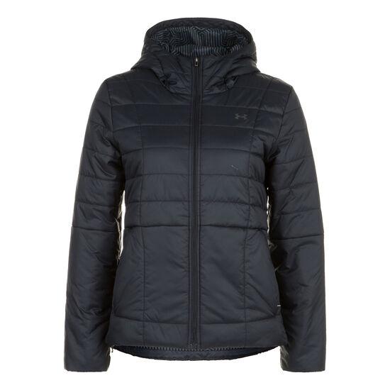 Insulated Hooded Jacke Damen, schwarz, zoom bei OUTFITTER Online