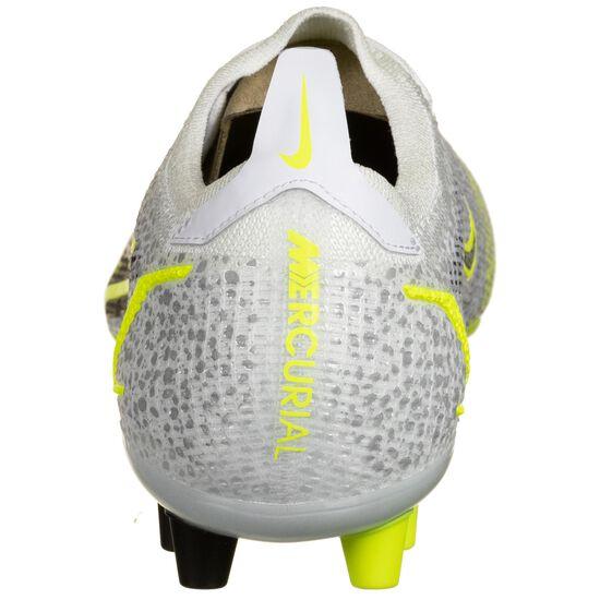 Mercurial Vapor 14 Elite AG Fußballschuh Herren, hellgrau / gelb, zoom bei OUTFITTER Online