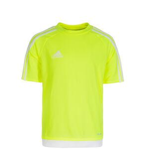 Estro 15 Fußballtrikot Kinder, gelb / weiß, zoom bei OUTFITTER Online