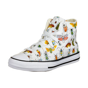Chuck Taylor All Star Sneaker Kinder, weiß / bunt, zoom bei OUTFITTER Online