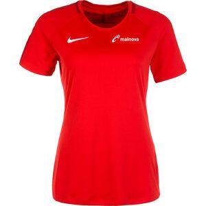Mainova Dry Academy 18 Trainingsshirt Damen, rot / schwarz, zoom bei OUTFITTER Online