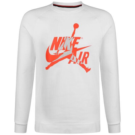 Jordan Jumpman Classics Crew Sweatshirt Herren, weiß / rot, zoom bei OUTFITTER Online