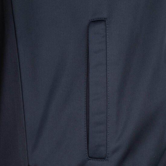 DMWU Tracktop Jacke Herren, dunkelblau / weiß, zoom bei OUTFITTER Online