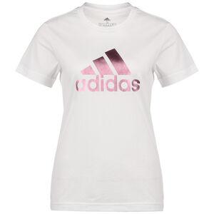 Athletics Graphic T-Shirt Damen, weiß / pink, zoom bei OUTFITTER Online