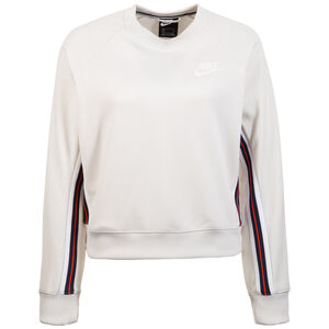 Sportswear Crew Sweatshirt Damen, beige, zoom bei OUTFITTER Online