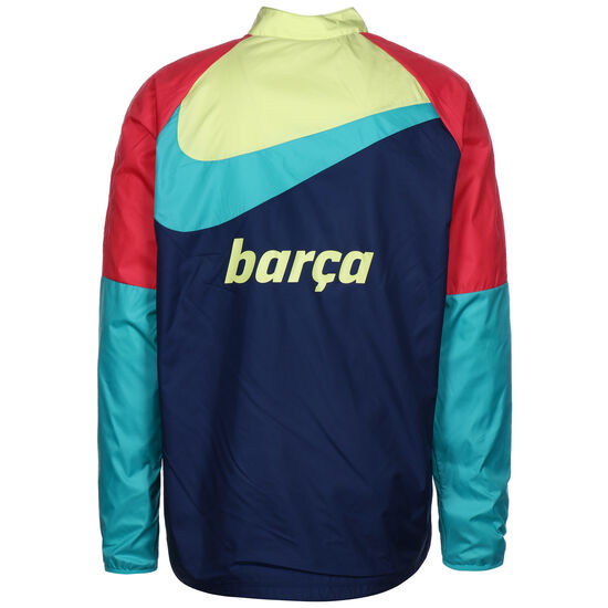 FC Barcelona Academy AWF Repel Trainingsjacke Herren, dunkelblau / rot, zoom bei OUTFITTER Online