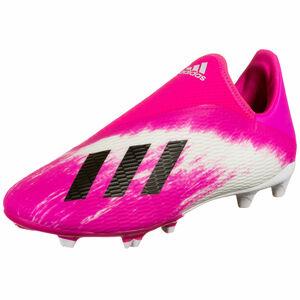 X 19.3 LL FG Fußballschuh Kinder, weiß / pink, zoom bei OUTFITTER Online