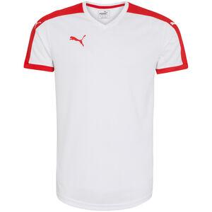 Pitch Fußballtrikot Herren, weiß / rot, zoom bei OUTFITTER Online