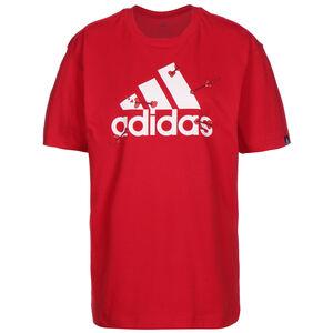 Valentine Graphic T-Shirt Damen, rot / weiß, zoom bei OUTFITTER Online