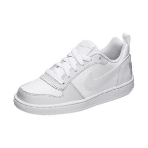 Court Borough Low Sneaker Kinder, weiß / grau, zoom bei OUTFITTER Online