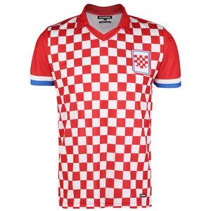 Kroatien 1992 Retro T-Shirt Herren, rot / weiß, zoom bei OUTFITTER Online