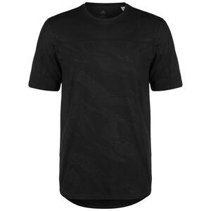 TKY Camo Trainingsshirt Herren, schwarz / dunkelgrau, zoom bei OUTFITTER Online