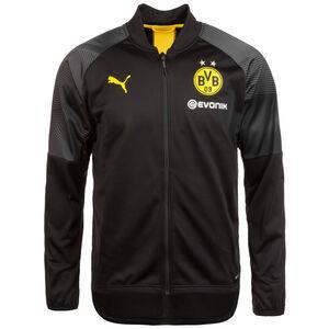 Borussia Dortmund Stadium Poly Trainingsjacke Herren, schwarz, zoom bei OUTFITTER Online