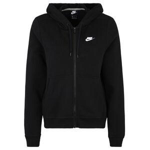 Sportswear Kapuzenjacke Damen, schwarz, zoom bei OUTFITTER Online