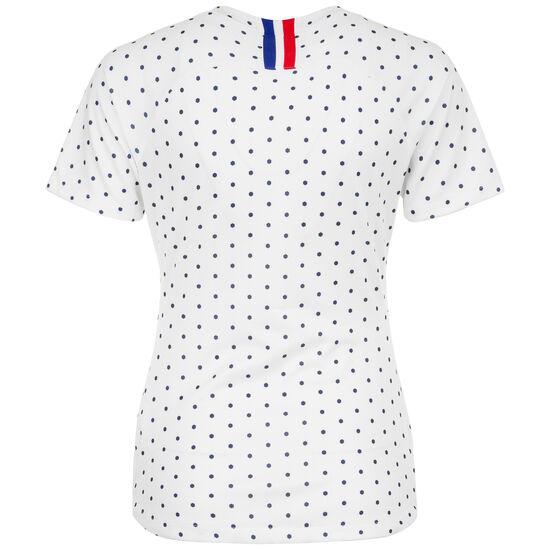 Frankreich Trikot Away Stadium WM 2019 Damen, weiß / blau, zoom bei OUTFITTER Online