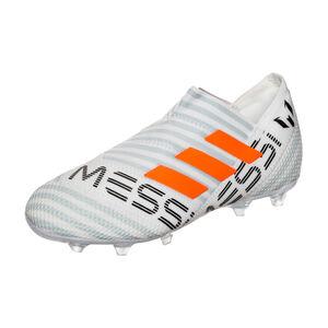 Nemeziz Messi 17+ 360Agility FG Fußballschuh Kinder, Weiß, zoom bei OUTFITTER Online