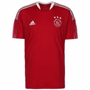 Ajax Amsterdam Trainingsshirt Herren, rot / weiß, zoom bei OUTFITTER Online