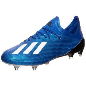 X 19.1 SG Fußballschuh Herren, blau / weiß, zoom bei OUTFITTER Online
