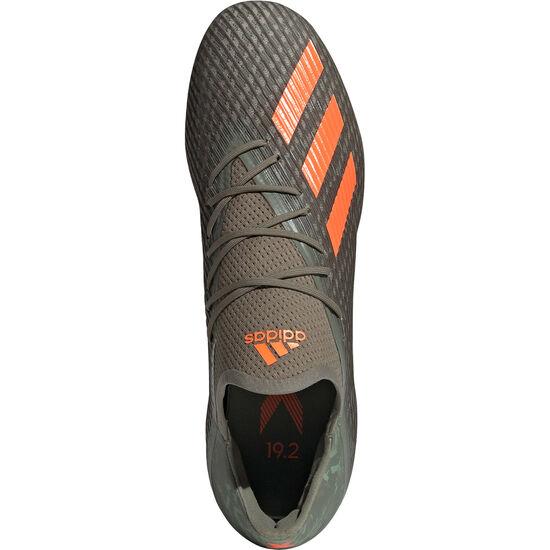 X 19.2 FG Fußballschuh Herren, oliv / orange, zoom bei OUTFITTER Online